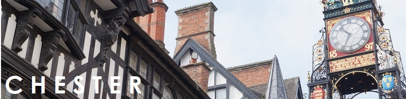 Tudor buildings in Chester