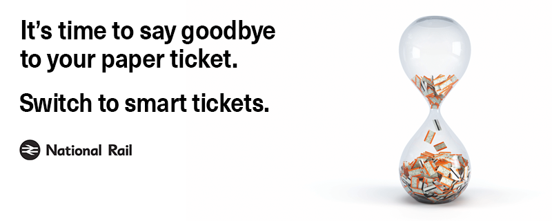 It's time to say goodbye to your paper ticket. Switch to smart tickets