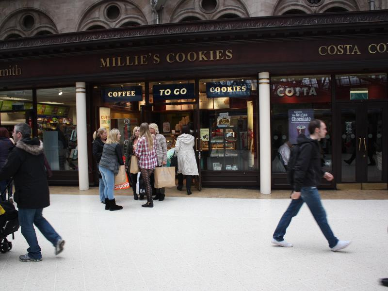 Glasgow Central Station Millies Cookies