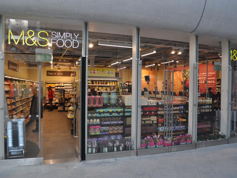 M And S Food London