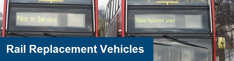 rail replacement services heading