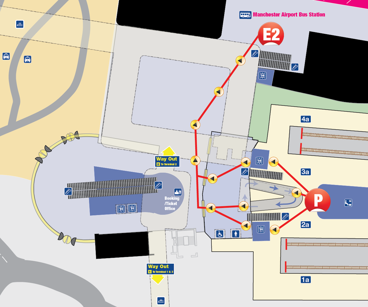 map of manchester airport train station National Rail Enquiries map of manchester airport train station